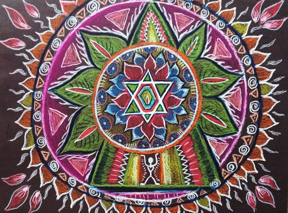 Mandala Drawing Playshop